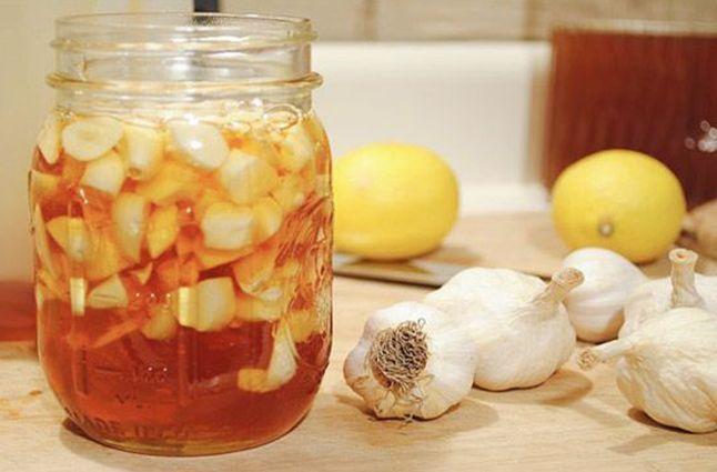 Чеснок в комбинации с лимонным соком