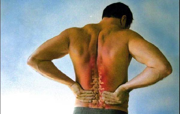 Дискомфорта в спине