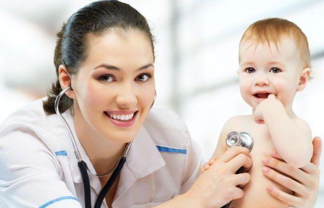 Обращение к врачу с ребёнком
