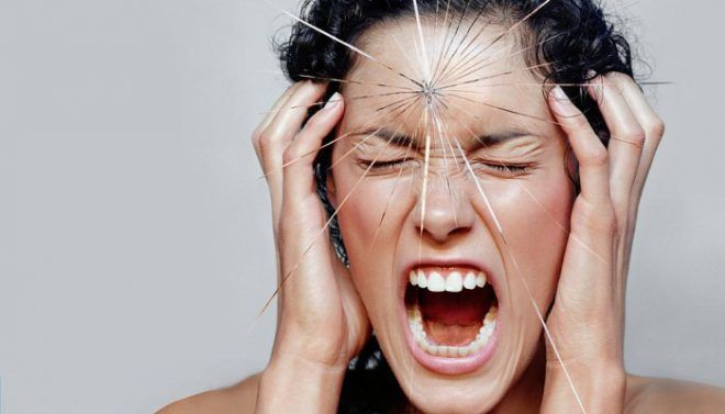 Сильный психический стресс