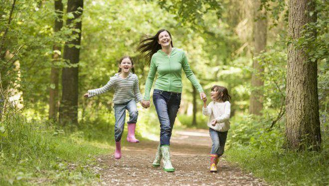 Свежий воздух и пешие прогулки
