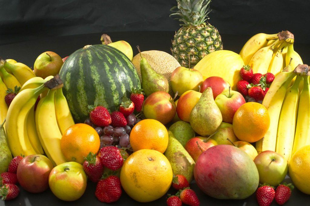 фрукты и детские зубы
